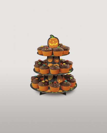 Halloween Cup Cake Tree Stand